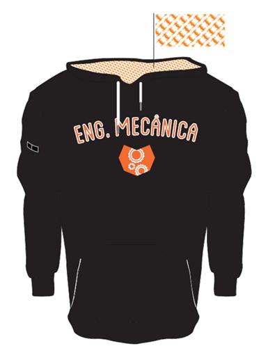 Camisola de Eng. Mecânica (laranja)